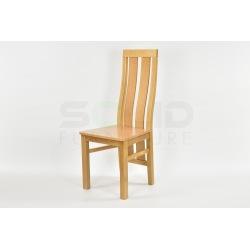 Krzesło K32, drewniane siedzisko