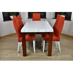 Zes. 24 (Stół Zeus + Krzesła Tapicerowane Wysokie)