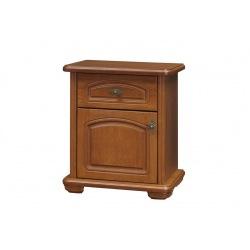Stylowa szafka nocna z szufladą Mieszko