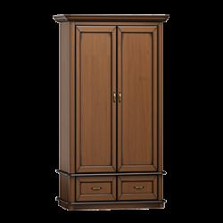 Stylowa trzydrzwiowa szafa z lustrem do sypialni i przedpokoju