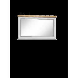Lustro białe prowansalskie Monako