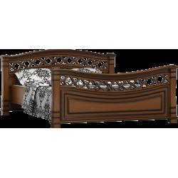 Łóżko drewniane sypialni Fala 28