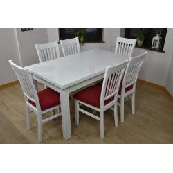 Stół mydełko + 6 krzeseł Zbyszek