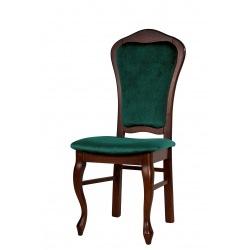 Krzesło stylowe z nogą ludwik Aurora