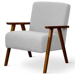Wygodny fotel w stylu PRL