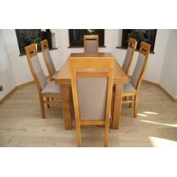 Stół Zeus+6 Krzeseł Porto