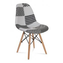 Krzesło Skandynawia Patchwork