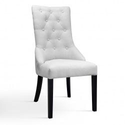 Krzesło z pikowaniem glamour Sophia