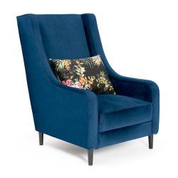 Duży fotel z poduszką Megi