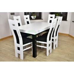 Stół Kant Szeroki i Krzesła Fill Okienko
