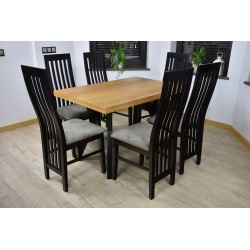 Stół Zuzanna i Krzesła Tomasz Szczeble
