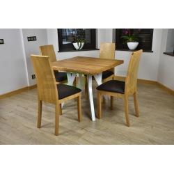 Stół Zuzanna kwadrat i 4 Krzesła Inter