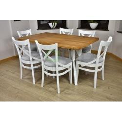 Stół Zuzanna Kwadrat i Krzesła A57