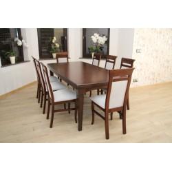 Stół Diament z krzesłami Ada
