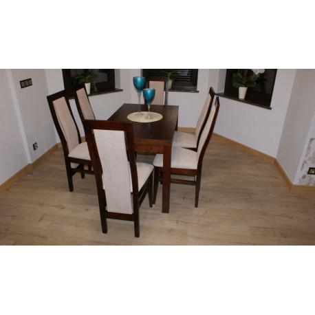 Stół Kant II z 6 krzesłami Tomasz