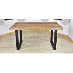 Stół Loft Magnus blat z deski dębowej!