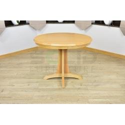 Stół okrągły noga ozdobna rozsuwana