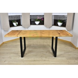 Stół Loft Liza, naturalna okleina dębowa