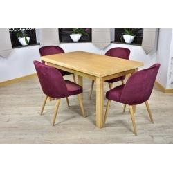 Stół Kant + 4,6 krzeseł Muszelka