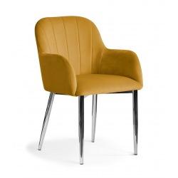 Krzesło Tulip noga chrom
