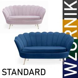 Sofa Muszelka standart