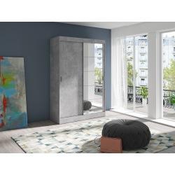 Szafa loftowa Emil beton 90-140 cm