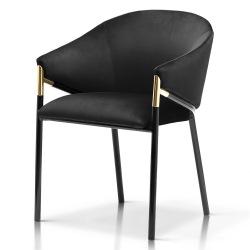 Krzesło loftowe Gold