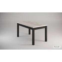 Stół Laura craft biały 140x80 rozkładany