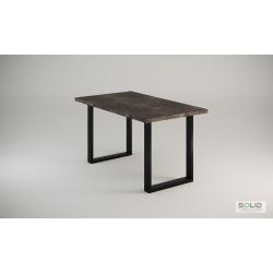 Stół loft Laura atelier ciemny rozkładany 140 - 240