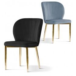 Krzesło Sally  Gold wzornik