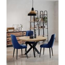 Stół loftowy z nogą X