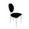 Krzesło glamour z kryształkami Amelia
