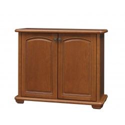 Stylowa mała komoda do salonu bez szuflad Mieszko