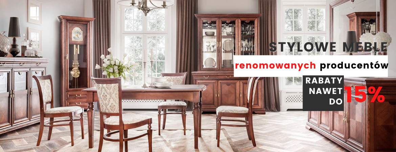 Kolekcja drewnianych mebli do salonu i biura - Milano