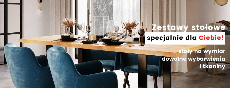 Zesatwy stołowe pod wymiar i pod kolor - na zamówienie!